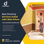 Experienced Painters of Just Care   Painting Services Dubai