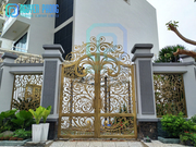 Best-selling modern laser cut iron gates for townhouses,  villas