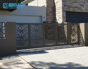 Laser Cut Iron Driveway Gate With Best Price