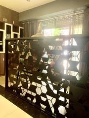 Decorative picturesque laser cut metal panels