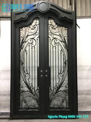 Best Manufacturer Of Wrought Iron Entry Doors,  Double Doors