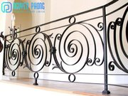European Wrought Iron Railing For Balconies,  Stairs