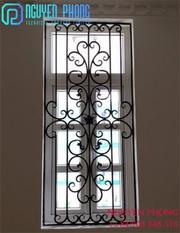 Luxury Wrought Iron Window Frame